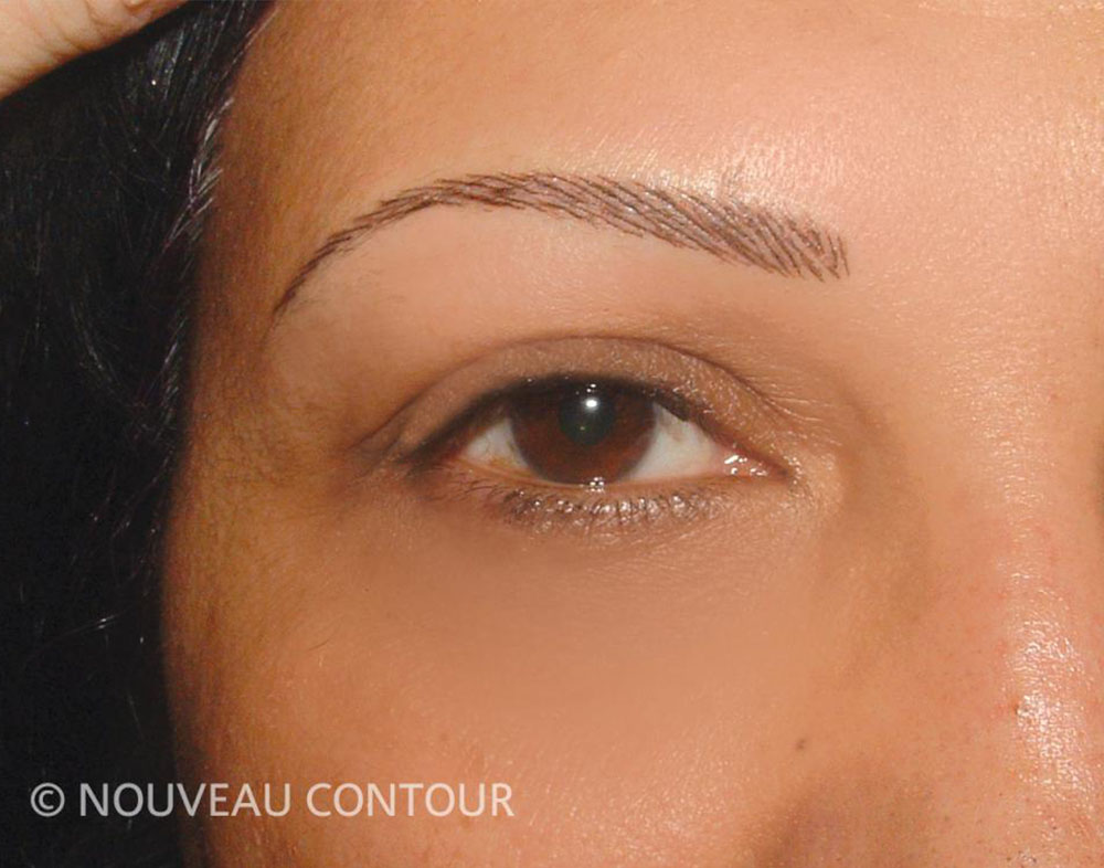 Permanent Eyebrows After